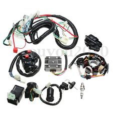 Electrics Wiring Harness Wire Loom ATV QUAD 125 150 200 250cc Stator CDI Coil