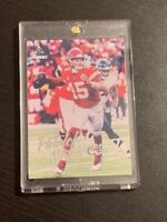 2020 Panini Luminance Patrick Mahomes II #1 Kansas City Chiefs!