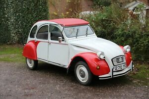Citroen 2CV 1988 lovely condition. Classic Specialists since 1983