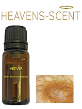 Heavens Scent Vetiver Root Essential Oil - Aromatherapy - Burner - Diffuser