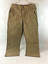 Ruff Hewn Mens Khaki Tan 100% Cotton Pants Jeans 30 x 34