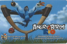 Angry Birds 2011 Fox promotional card