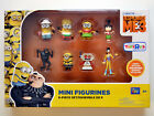 NEW Despicable ME MINIONS Mini Figurines 8-piece Set Action Collectible Figures