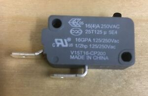 V15T16-CP200 Honeywell Door Safety Switch Microwave Range Washer
