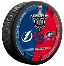 TAMPA BAY LIGHTNING vs COLUMBUS BLUE JACKETS 2020 STANLEY CUP PLAYOFFS NHL PUCK