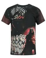 Official Star Wars Force Awakens Kylo Ren Sublimation Boy's T-Shirt