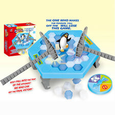 2017 Save the Penguin Ice Kids Puzzle Game Break Ice Block Hammer Trap Party TGN