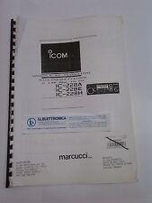 MANUALE IN ITALIANO istruzioni d'uso per ICOM IC-228E