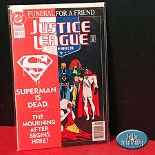 JUSTICE LEAGUE AMERICA #70 FUNERAL FOR A FRIEND 1ST PRINT DC COMICS 1993 VF/NM