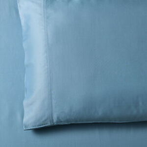 Solid Bamboo-Cotton Blend Set of 2 King Size Breathable Soft Pillowcases