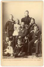 Berlin, Guillaume II et sa famille Vintage silver print.Augusta-Victoria de Sc