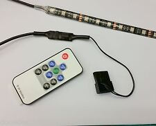 PC CASE RGB FLEXI LED STRIP COLOUR CHANGE LIGHT 30CM - TWICE AS BRIGHT!!