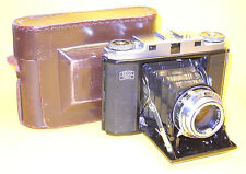 Zeiss Ikonta M with Tessar in extremely good condition, with original ER Case