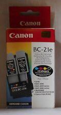 Canon BC-21e Druckkopf Tinte 4Farben BJC 2000 4000 5000 Multipass C20 C30 C50