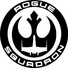 star wars rebel alliance rogue squadron Vinyl Decal Sticker Car Van bike window