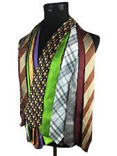 Lot 11 Flawed Designer Neckties Hermes Chanel Burberry London Ferragamo Mor Tie