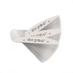 Nail Files ABA GROUP Halfmoon/Ellipse/Wings All Types&Gradations 1,5,10,25,50pcs