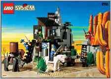 LEGO 6761 - Western: Cowboys: Bandit's Secret Hide-Out - 1996 - NO BOX