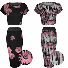 Unbranded Polyester Floral Plus Size Skirts for Women