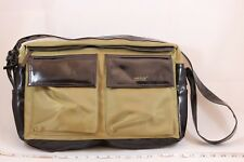 MATT & NAT Montreal Brown Vegan Leather Fabric Messenger Shoulder Purse Handbag
