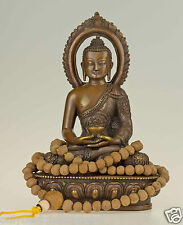 Mala Gebetskette Halskette Raktu Samen Nepal Rosenkranz Buddha Buddhismus 86g