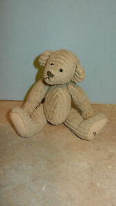 Ganz Cottage Collectibles Teddy Bear Boy Beige Corduroy Carol E. Kirby Toadster
