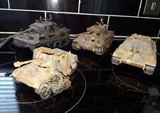 Built 1/35 German Ww2 Scrap Yard Tanks