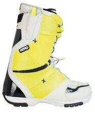 New 2014 Nitro Ultra TLS Snowboard Boots Mens 10 Neon Green and Grey