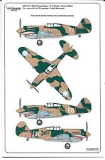 Warbird P-40C Flying Tigers, R.T. Smith, Chuck Older Decals 1/32 010