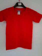 Jungen-T-Shirts & -Polos mit Rundhals-Ausschnitt ohne Muster in Größe 116