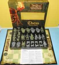 Pirates of the Caribbean Dead Man's Chest Chess Set Collector's Edition Complete