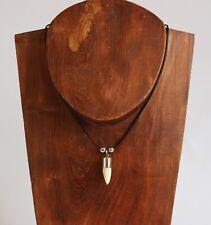 Halskette Kette mit echtem Krokodilzahn mit Cites von Zuchtfarm aus Südafrika