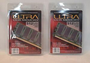 ☆ NEW 2 ULTRA DDR memory 512mb PC2100 DDR 266 MHZ F/SHIP