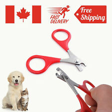 Stainless Dog Cat Nail Cutter Clipper Pet Paw Claw Trimmer Safety File Grooming