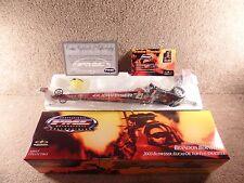 2003 PMC ERTL 1:24 Diecast Dragster Brandon Bernstein Budweiser Lucas Top Fuel