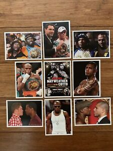 Floyd Mayweather vs Miguel Cotto & Canelo-Mosley 2012 9-card Set Sold At Fight