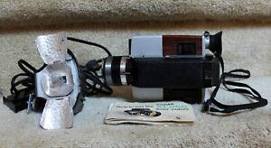 Vintage KODAK XL360 Super 8 mm Movie Camera with Flash & Instructions