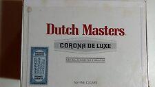 Vintage Dutch Masters Corona De Luxe Cigar Box