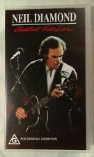 Neil Diamond VHS 1988 Greatest Hits Live CMV Enterprises [New & Sealed Cassette]