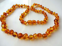 Genuine  BALTIC  AMBER Necklace 15inch