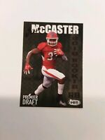 TEVIN McCASTER 2019 Sage Hit Premier Draft High Series RC #112 FREE SHIPPING