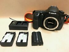 Canon EOS 60D 18.0MP Digital SLR Camera - Black (Body Only) w/ Battery & Charger