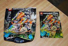 LEGO Hero Factory 44025  BULK DRILL MACHINE  Bag and Instructions, No Pieces