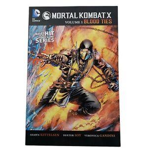 Mortal Kombat X Vol. 1: Blood Ties (DC Comics 2015)