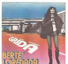 LOREDANA BERTE' - GRIDA  - SOLO COPERTINA - ONLY COVER
