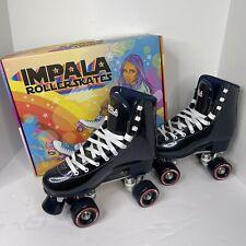Impala Quad Roller Skates Vegan Leather Midnight Sparkle Women's Size 8