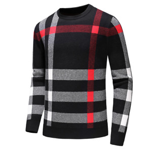 Fall Burberry Slim Men's Cashmere Sweater Genuine