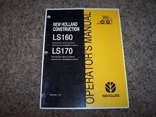 L&S Heavy Equipment Manuals & Books for New Holland Skid