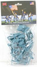 Toy Soldiers Of San Diego American Civil War Union Infantry Set 2 In Blue