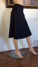 UNIQLO UUU  LEMAIRE WOMEN BLACK FLARE SKIRT NWT SIZE L